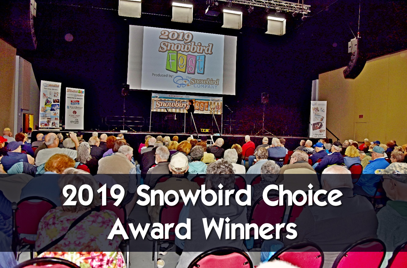 2019 Snowbird Fest Snowbird Choice Award Winners