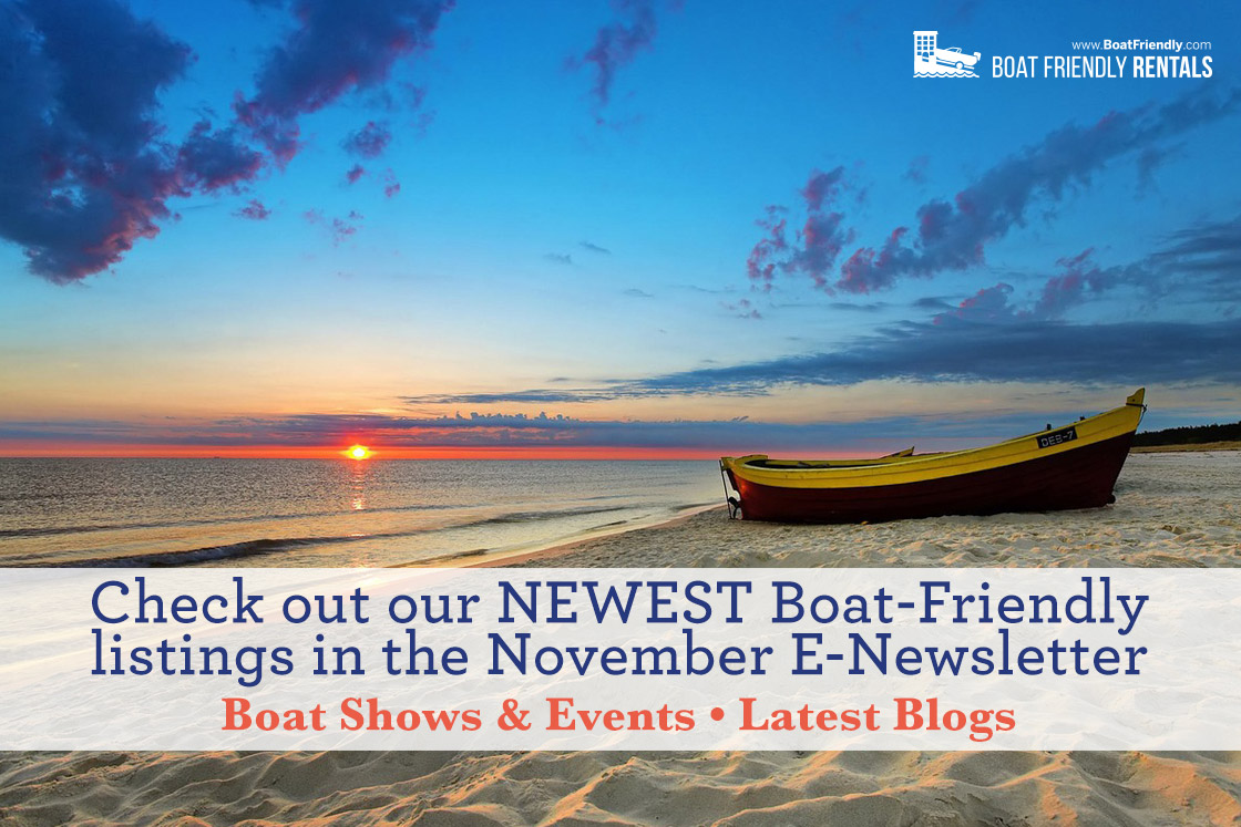 Boat Friendly Newsletter