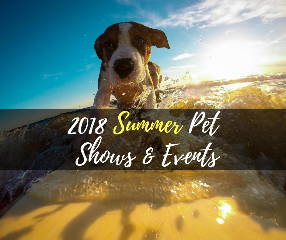 Summer Pet Shows & Events 2018