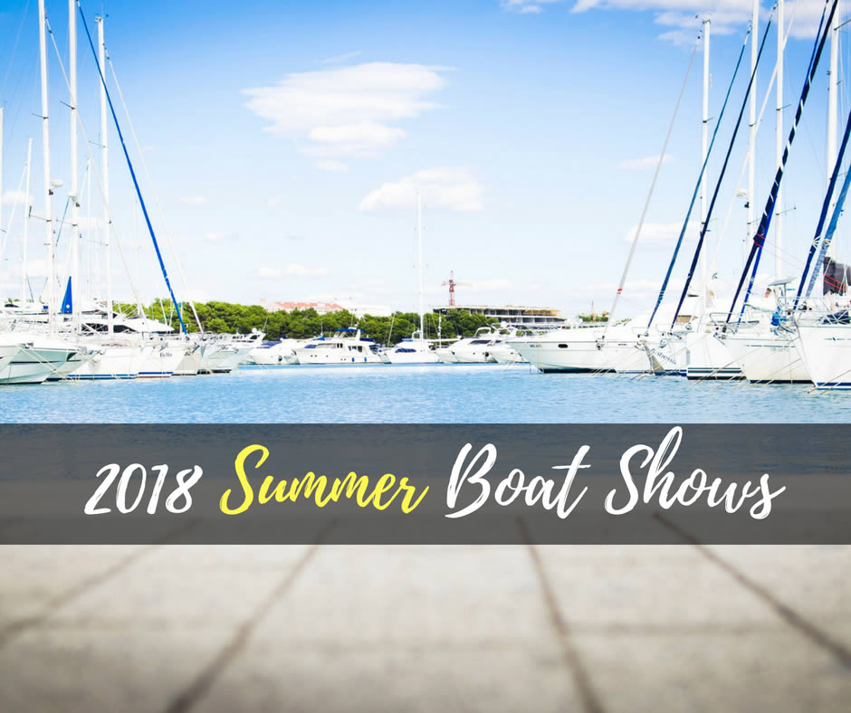 Summer Boat Shows 2018