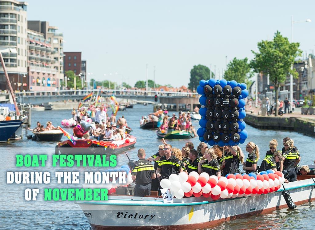 Boat Festivals for November 2017