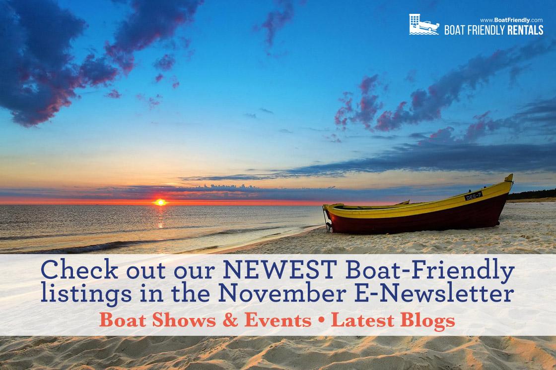 Boat Friendly Newsletter