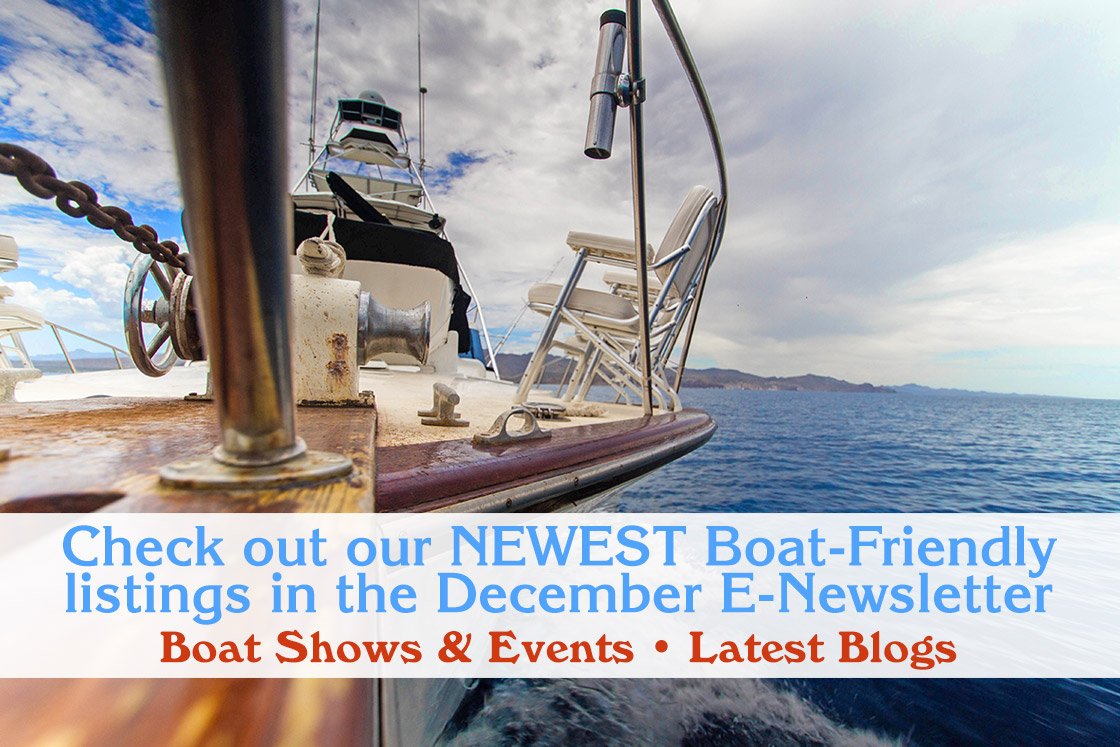 boat friendly december newsletter boat show boat expos