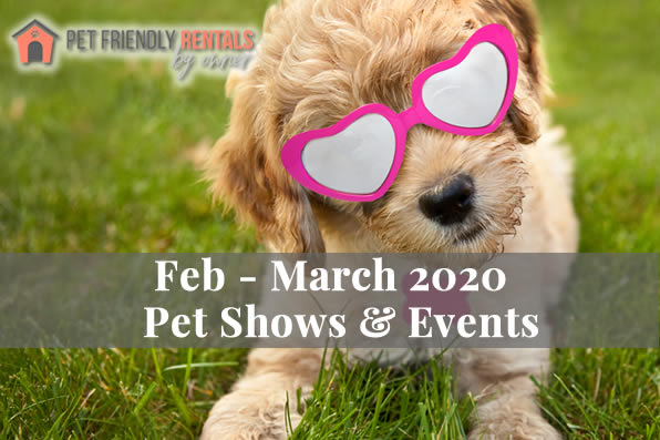 February & March 2020 Pet Friendly Events
