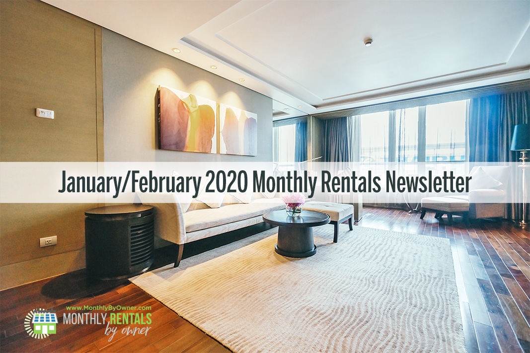 January & February 2020 Monthly Rentals by Owner Newsletter