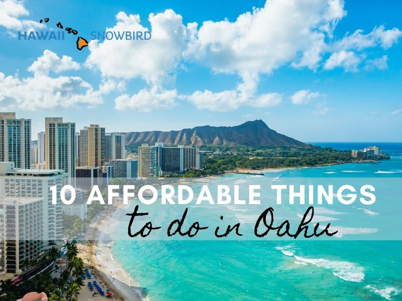 Affordable Things to Do in Oahu