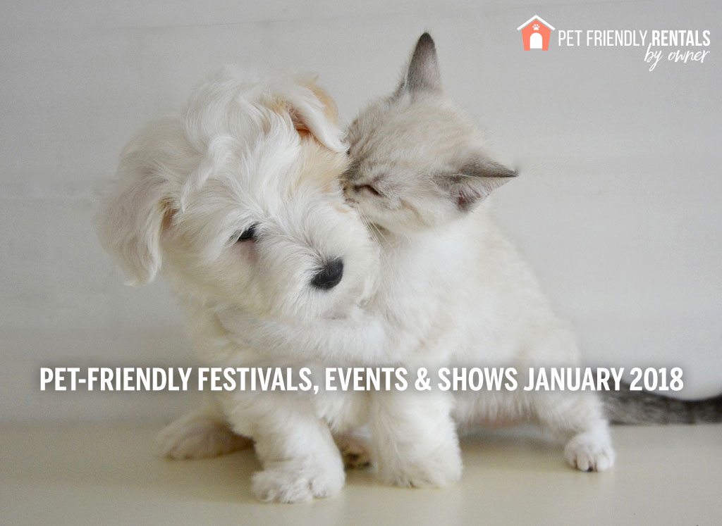 pet events for january 2018