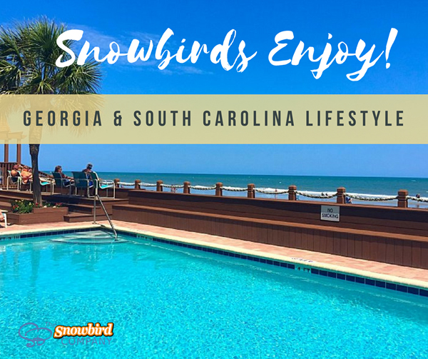Georgia South Carolina Coastal Scenic Lifestyle