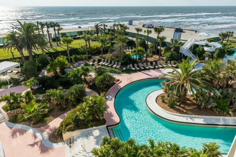 Diamond Beach Resort Retreat W Luxury Pools Hot Tub Room Oceanfront Galveston Texas